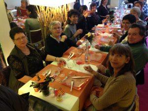 Les membres du bureau et les bénévoles de l'association Jasmin d'Orient.