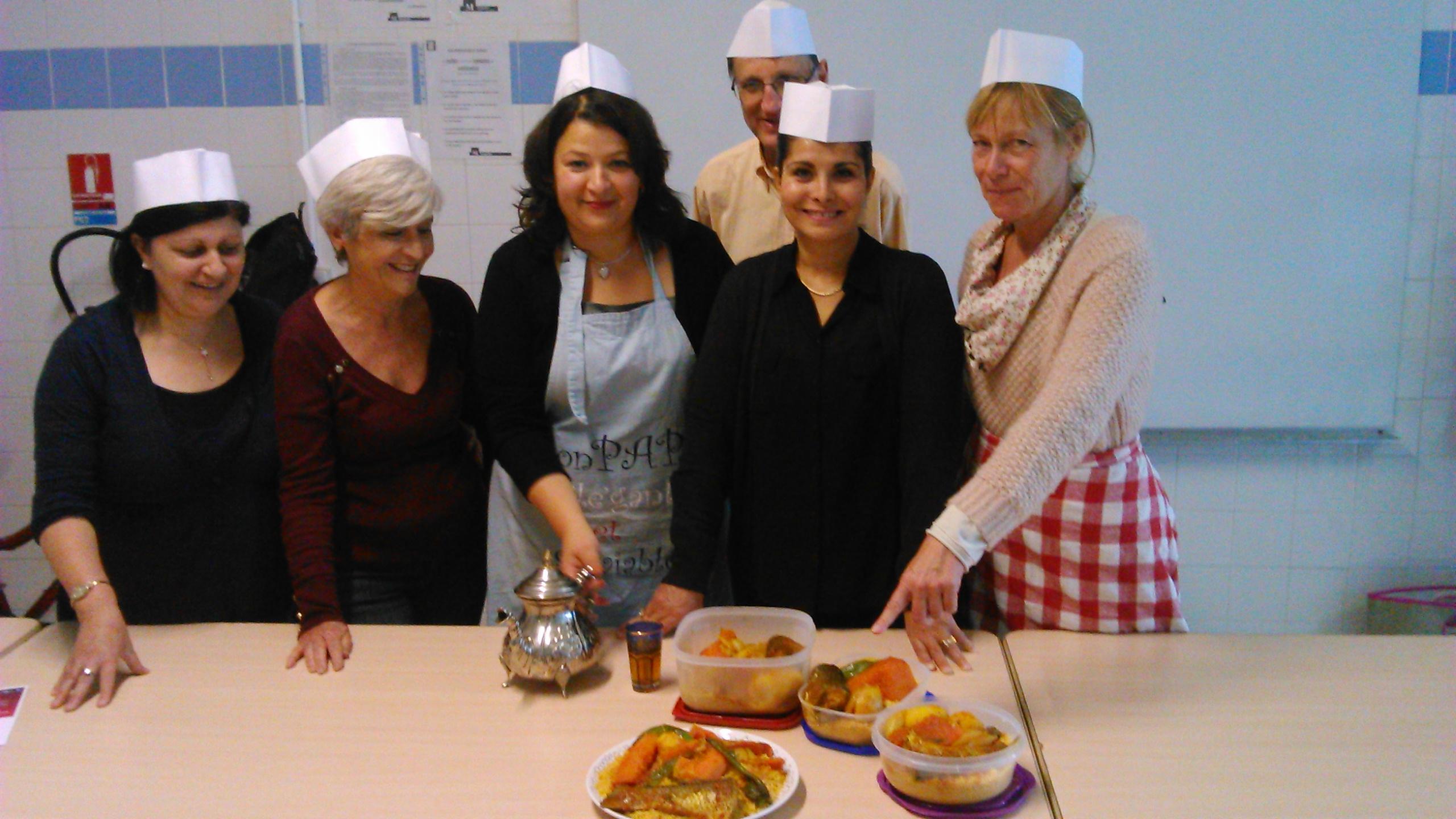 Cours cuisine du monde