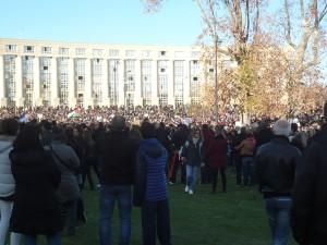 """Marche républicaine """"Nous sommes tous des Charlie"""" à Montpellier"""